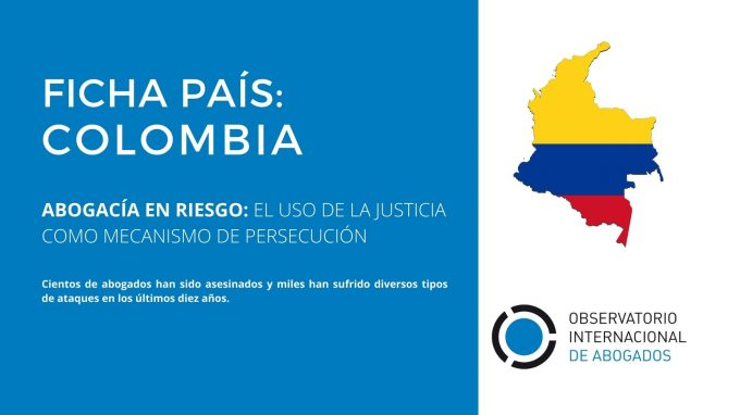 Country File / Colombia: The use of justice as a persecution mechanism