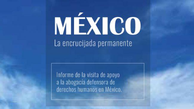 Mexique: Visite pour soutien aux avocats défenseurs des droits de l'Homme