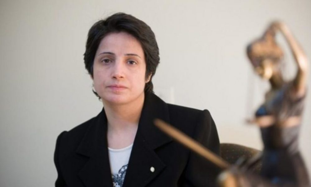 L'avocate iranienne Nasrin Sotoudeh nominée