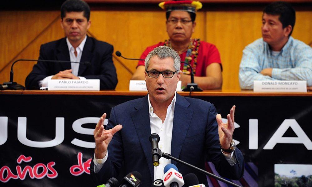 L'OIAD nomine l'avocat américain Steven Donziger